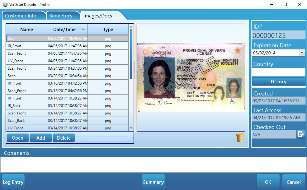 VeriScan Desktop - ID scanning software by IDScan net