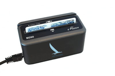 M-260 2D Barcode and Magnetic Stripe Reader